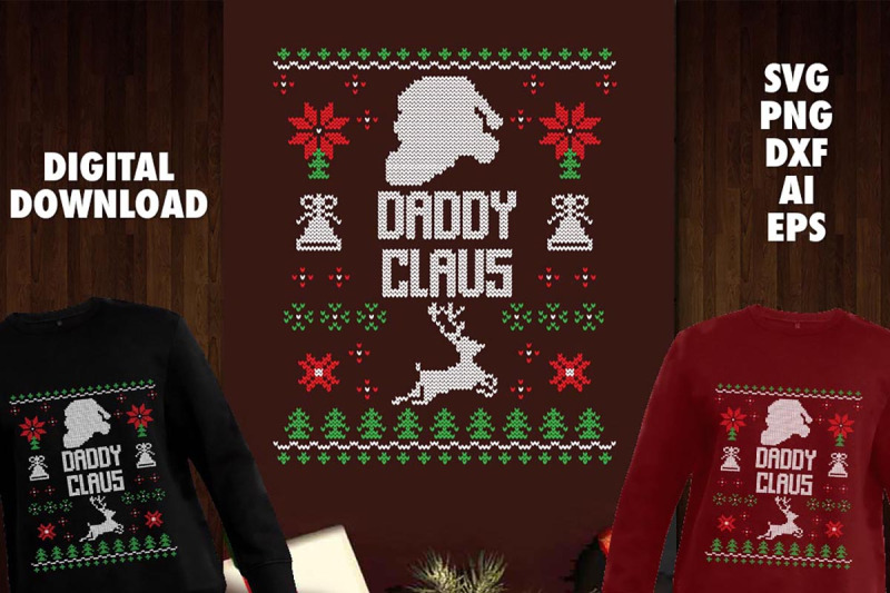 daddy-claus-transparent-svg