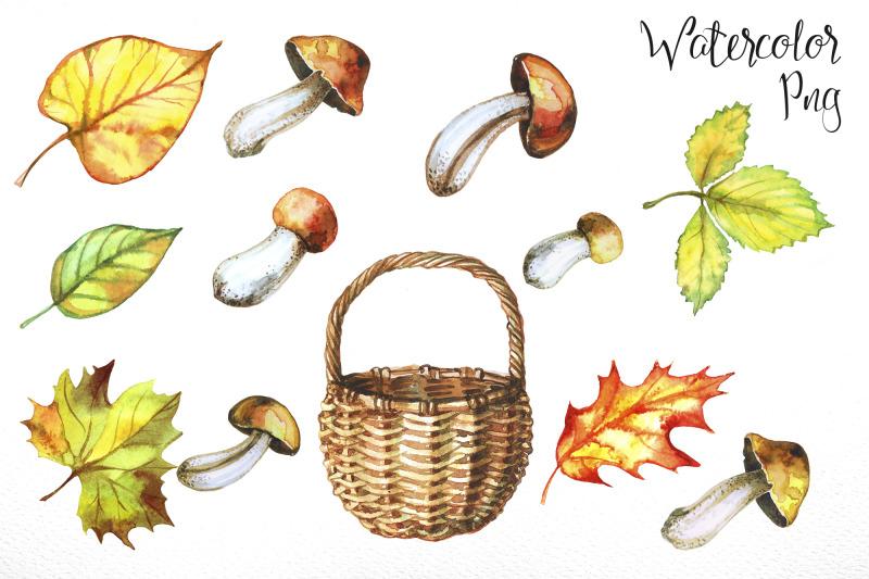mushroom-harvest-watercolor
