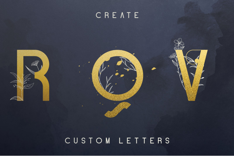 blue-gold-sans-serif-font-extras