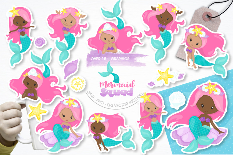 mermaid-squad-graphic-and-illustrations
