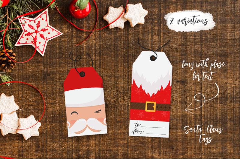 santa-claus-tags-and-cards
