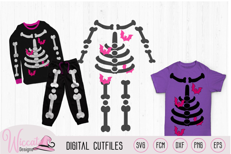 girl-skeleton-with-bats-halloween-costume-svg