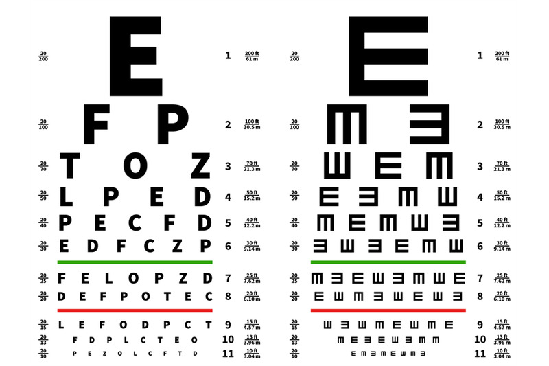 eyes-test-chart-vision-testing-table-ophthalmic-spectacles-measuring