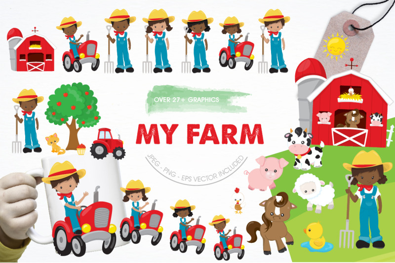 my-farm-graphic-and-illustration