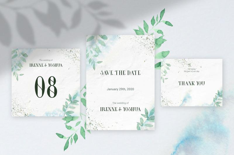 minimal-green-watercolo-wedding-invitation