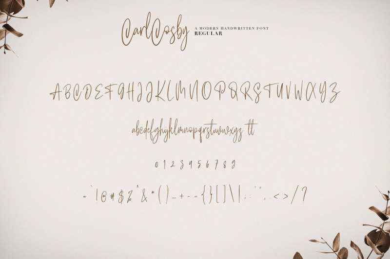 carlcosby-font-script
