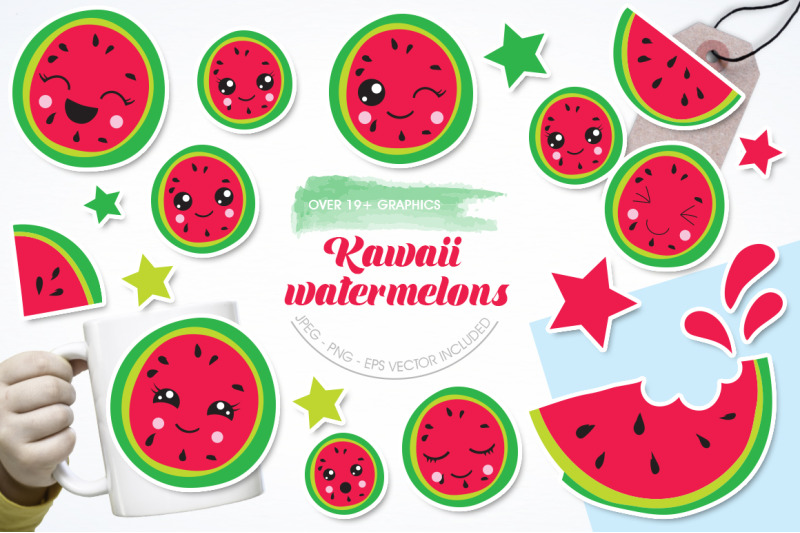 kawaii-watermelons-graphic-and-illustration