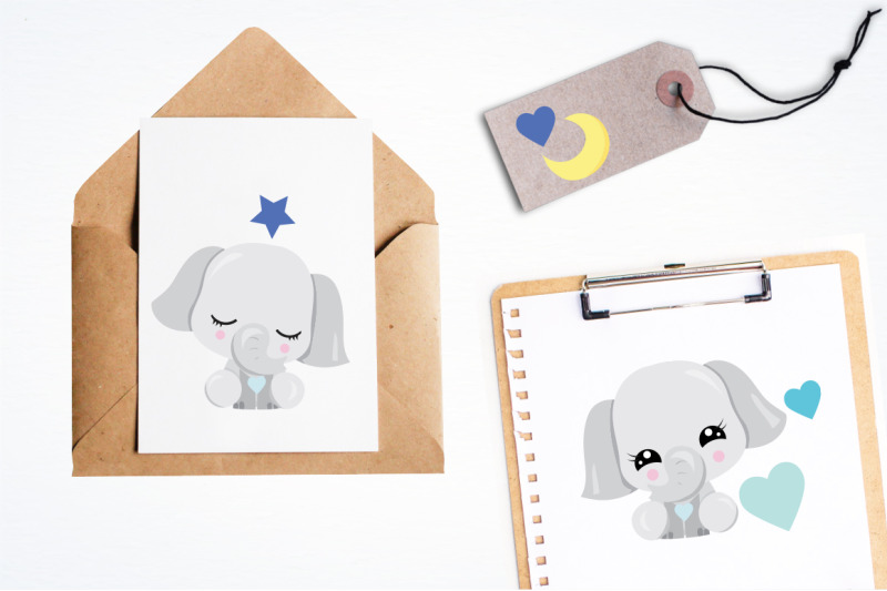 kawaii-elephant-graphic-and-illustration