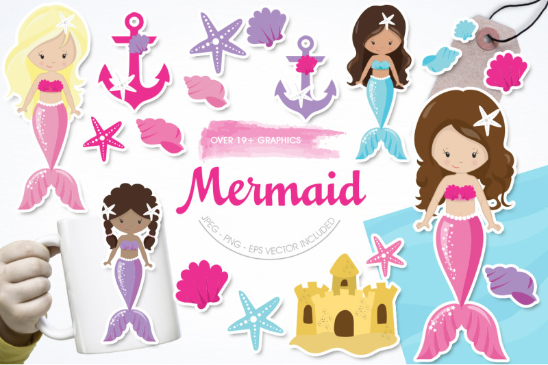 mermaid-graphic-and-illustration