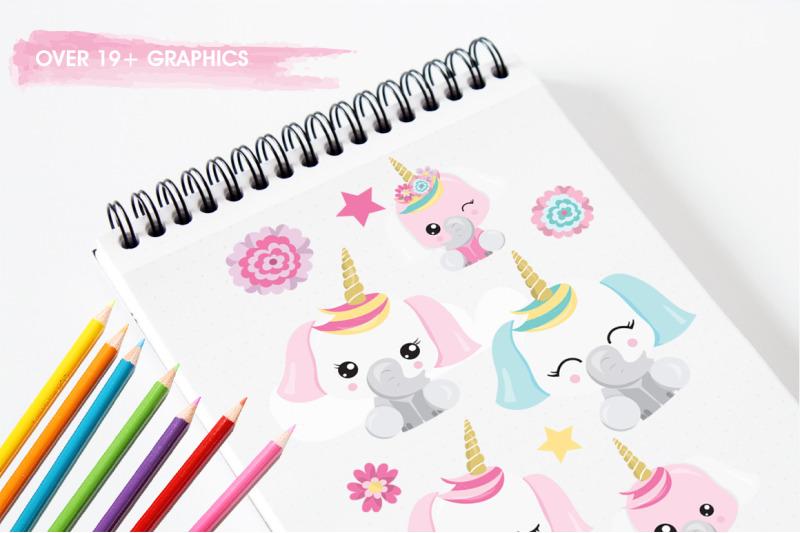 elephant-unicorn-graphics-and-illustration