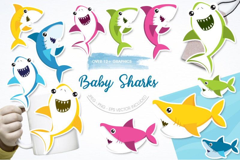 baby-sharks-graphic-and-illustration