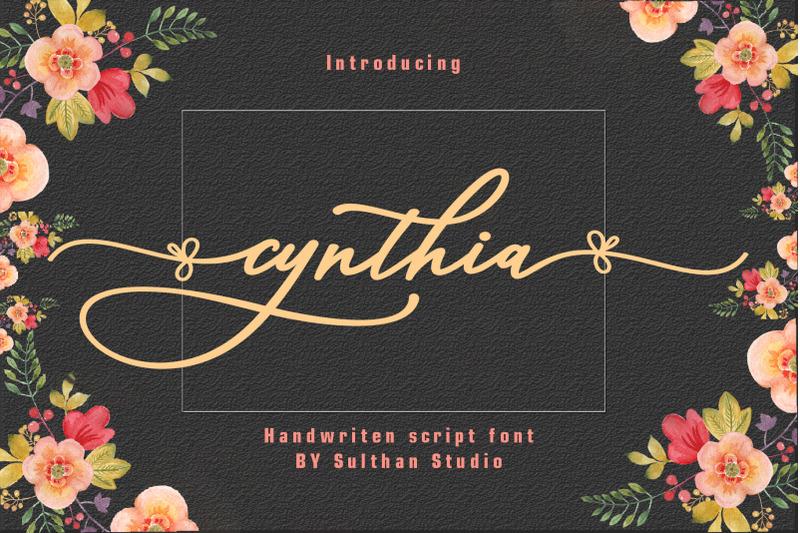 cynthia-script