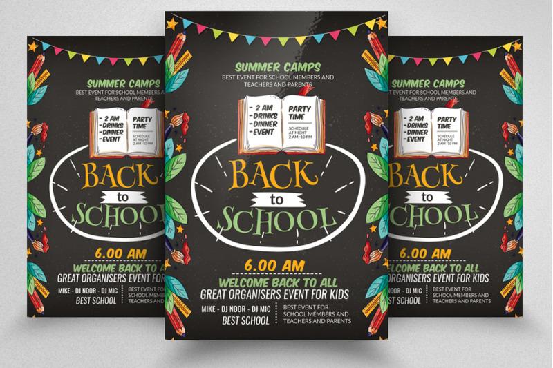 back-2-school-flyer-template