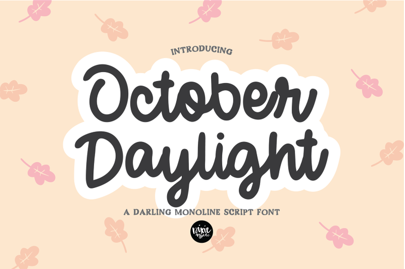 october-daylight-a-bold-script-hand-lettered-font