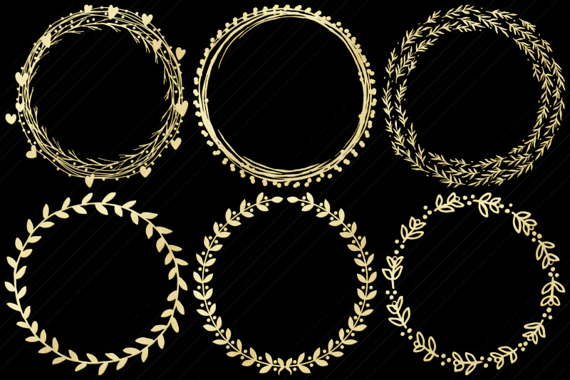 gold-foil-wreath-clip-art-xmas-and-other