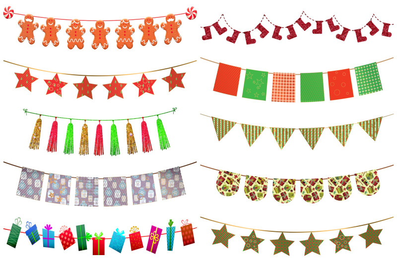 christmas-bunting-clip-art