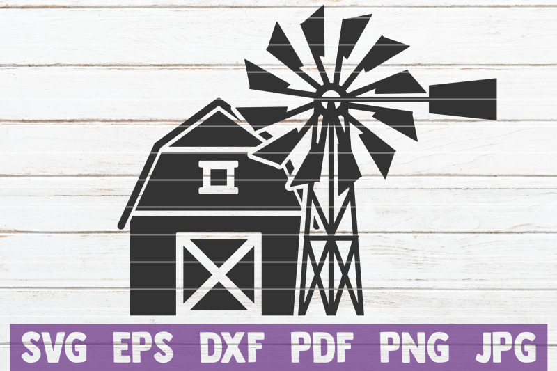 windmill-svg-cut-file