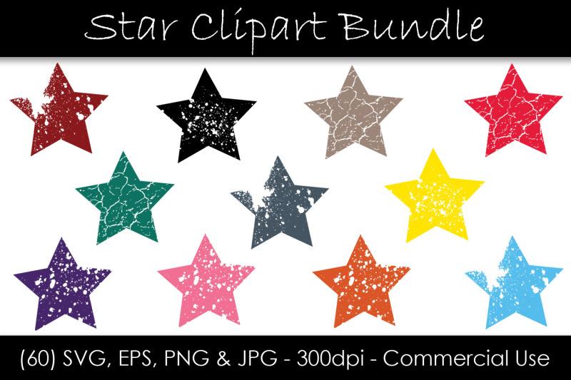 stars-svg-bundle-grunge-star-clip-art