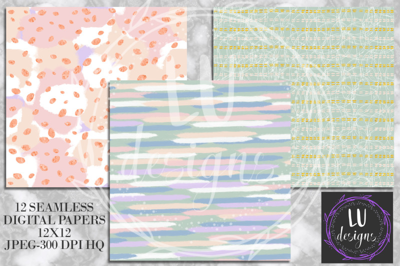 abstract-paint-digital-papers-watercolor-pastel-seamless-patterns