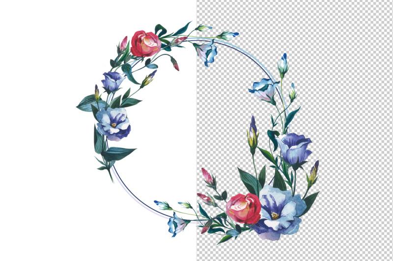 watercolor-flower-wreath-png-set