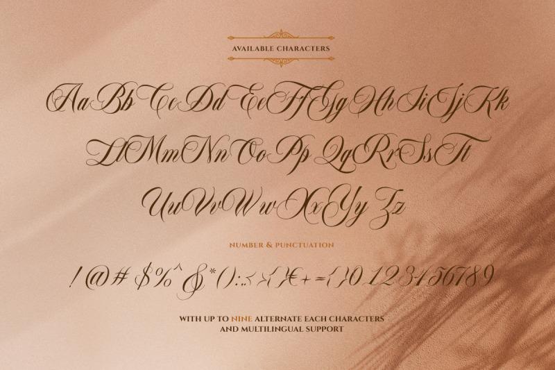 bordemile-luxury-script