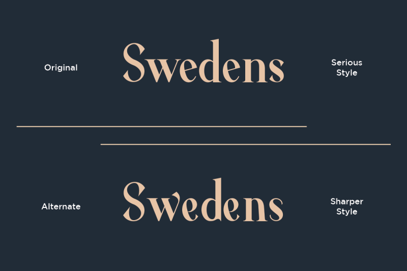 average-modern-serif-typeface