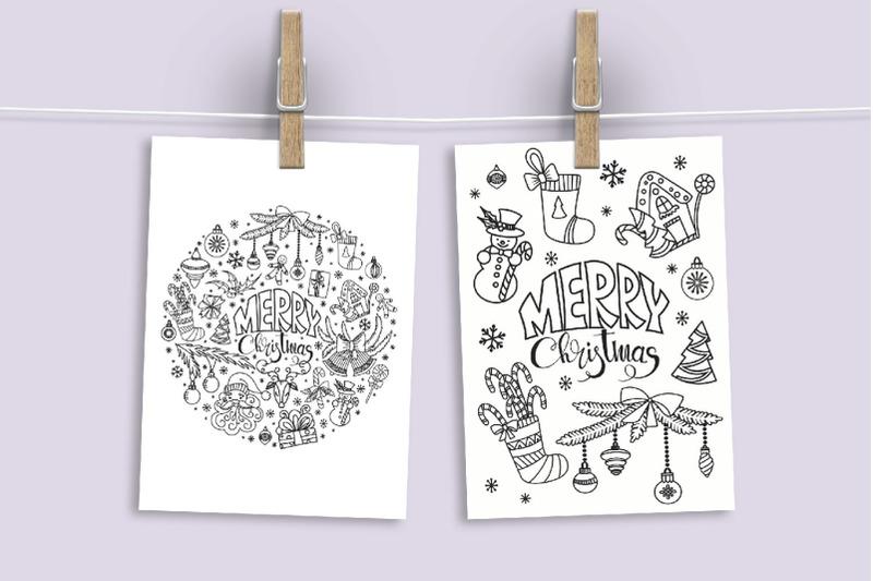 christmas-doodles-svg