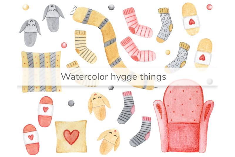 watercolor-hygge-cute-things