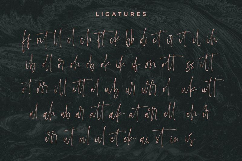 carlinet-handwritten-font