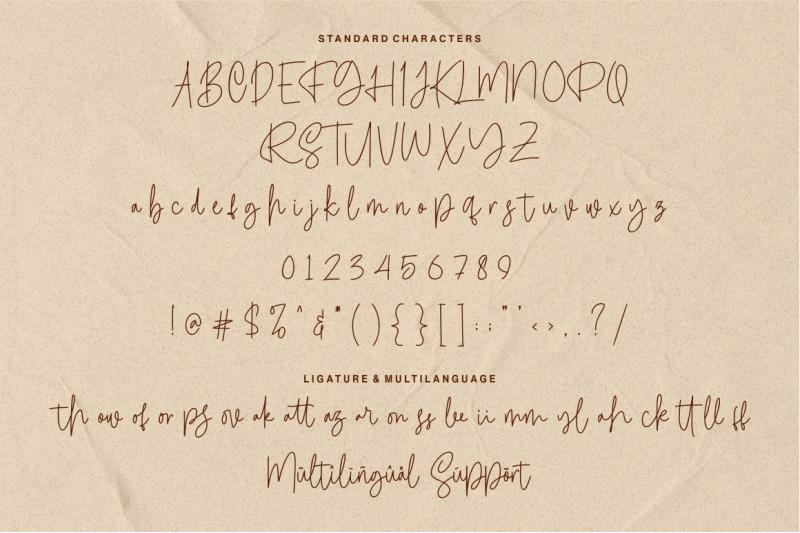 calledliner-monoscript-font
