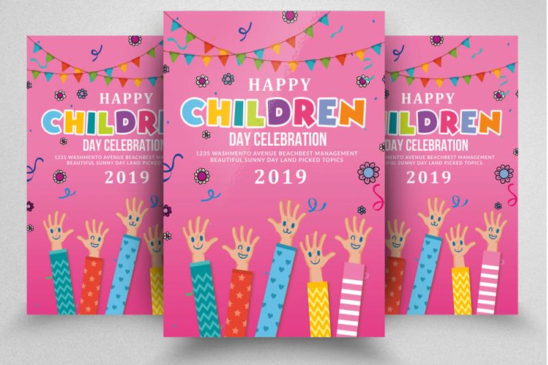 happy-children-celebration-day-flyer