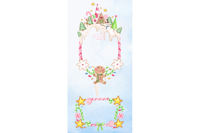 gingerbreadland-watercolor-set