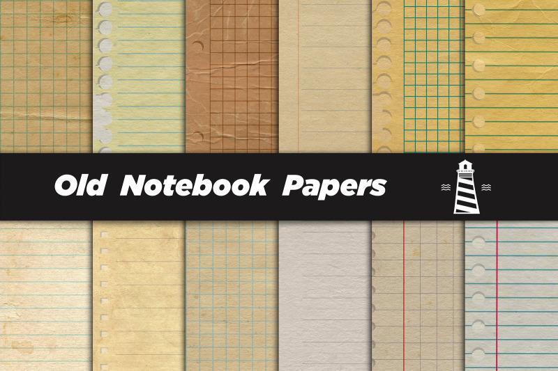 vintage-notebook-digital-paper