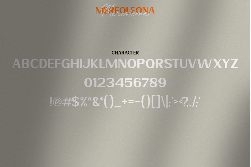 mereoleona-font-duo