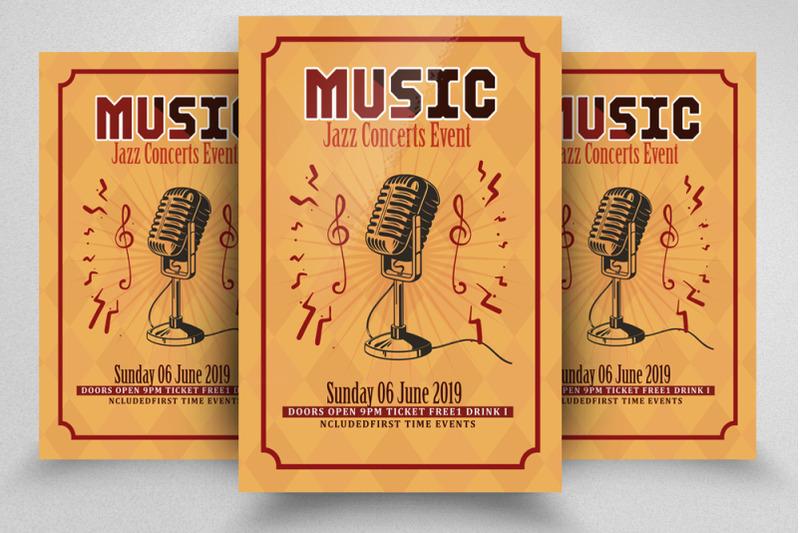 music-concert-flyer-template