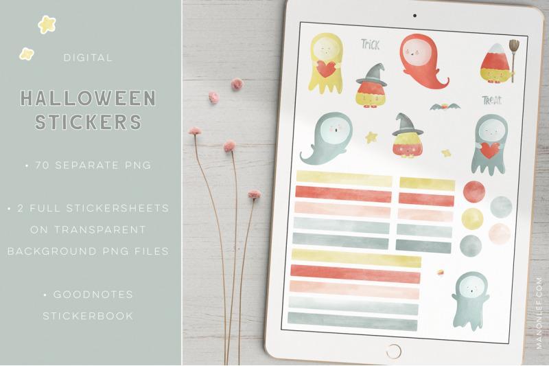 halloween-goodnotes-stickers-digital-planner-stickers