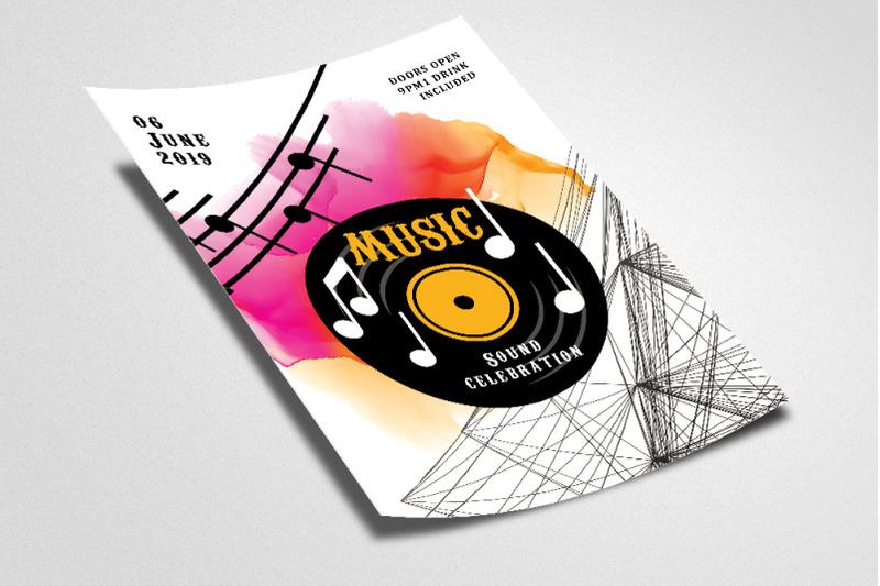 music-dj-special-night-flyer