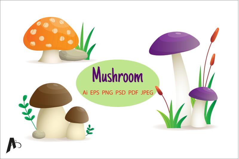 mushroom-set-different-mushroom-illustration