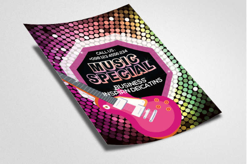 music-special-night-flyer-poster