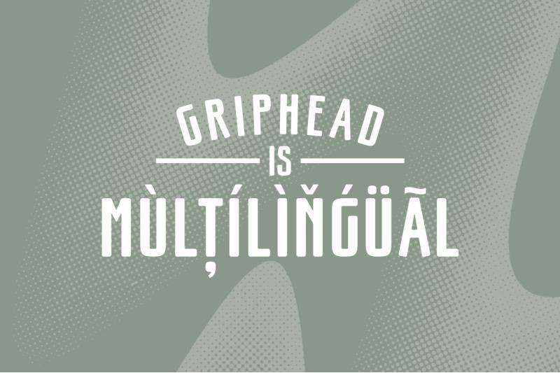 griphead-modern-condensed-font
