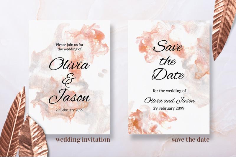 copper-and-pearl-wedding-invitation-suite
