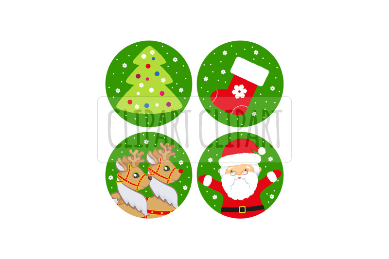 santa-claus-and-deer-xmas-clipart-png