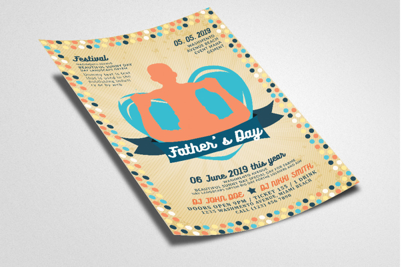 father-039-s-day-flyer-template