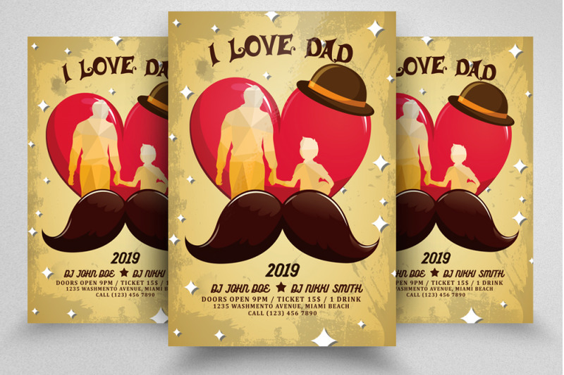 father-039-s-day-flyer-poster