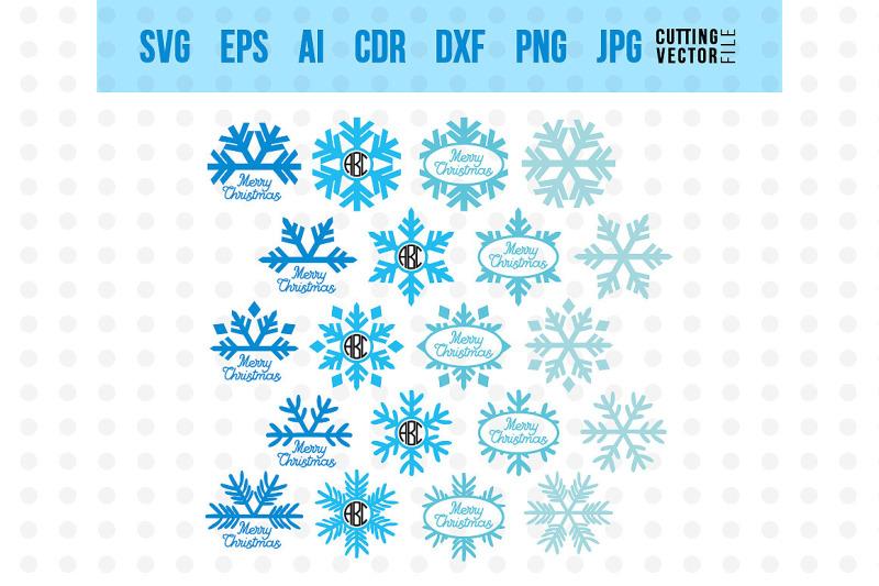 snowflake-monogram