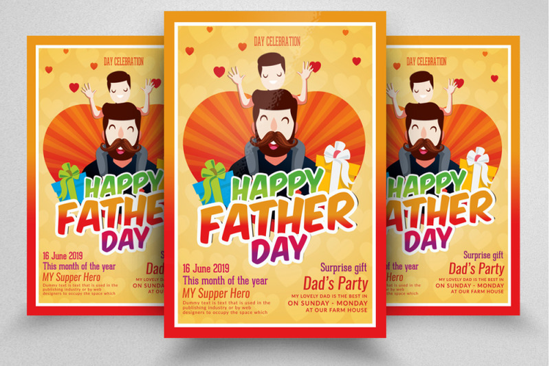 happy-fathers-day-flyer-template