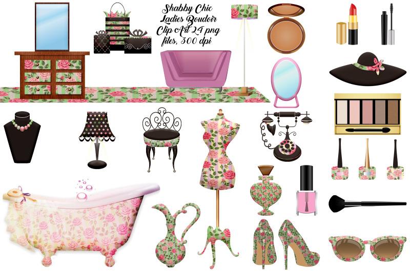 shabby-chic-boudoir-clip-art
