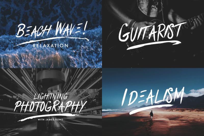 clawblood-brush-font