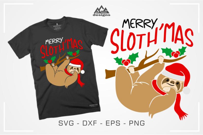 merry-sloth-039-mas-christmas-svg-design
