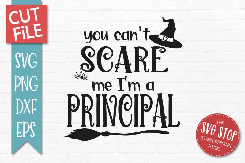 principal-halloween-svg-cut-file